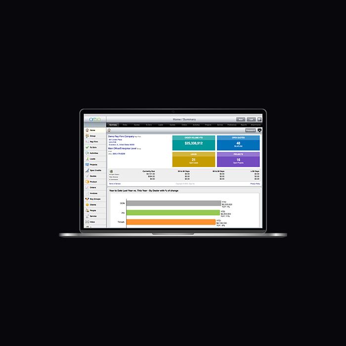 Orgo Sales Engine Desktop