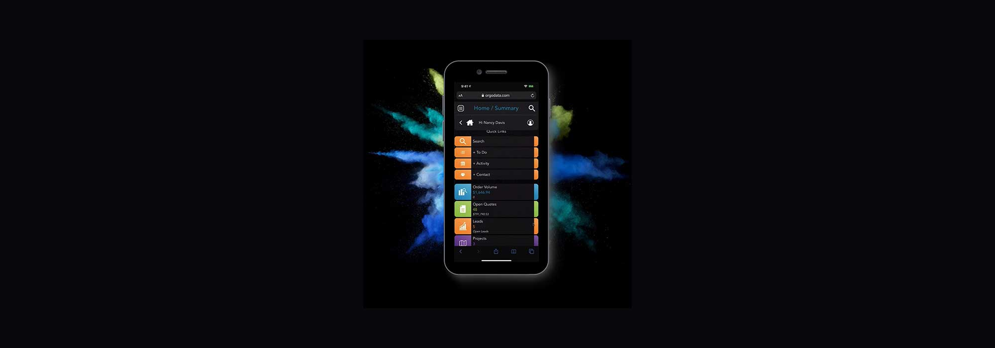 Orgo Sales Engine Rep Firm Ready App